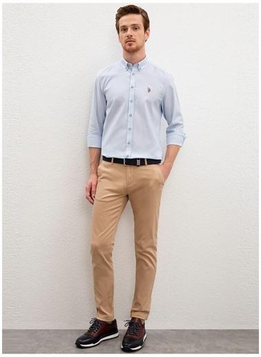 U.S. Polo Assn. Pantolon Sarı